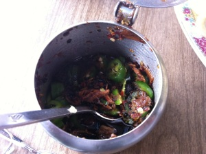 Black Bean Chili Oil, made in house