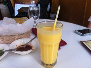 Mango Lassi, first encounter