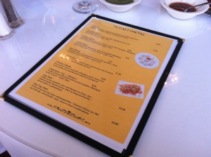 Second set of Menus (The Nepal Cuisine offerings)