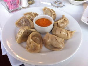 Hidden packages of Lamb and Chicken Momo