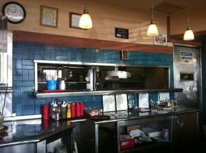 Front and Center dining area for a retro look into Nikko's