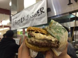 "I'll dub this Ramen Burger 2.0 ""The Gluttony Remix"""