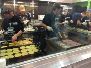 Ramen Burger Team hard at work