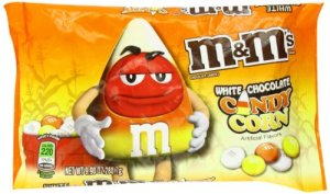 Candy Corn White Chocolate M&M's, what is this sorcery?