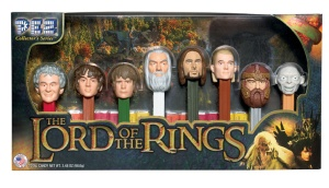 Loved the movies, not really fond of Pez, but a great gift for Tolkien fans. Photo Courtesy via Pez.com