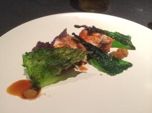 Quail: Ham, Cabbage, Golden Raisin and Sherry