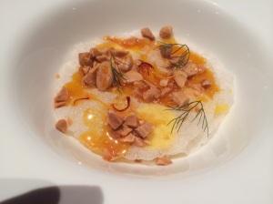 Rice: Saffron, Honey, Almond, and Orange