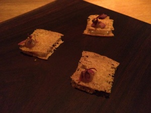 Raw Cow's Milk Cheese, Dates, & Amaranth