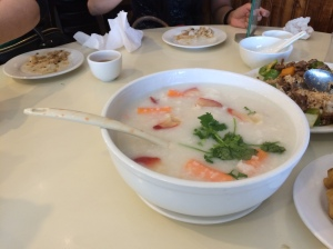 Seafood Supreme Super Bowl Congee