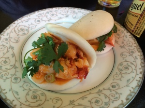 Talde's Seafood Bun in its natural glory