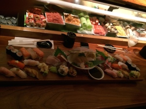Blue Ribbon's Grandeur Omakase Display