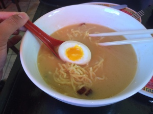 Talde's Breakfast Ramen, dating a boozy waitress or bartender? This should do the trick...