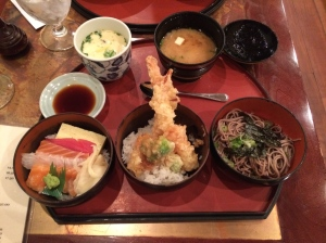 Best Japanese Lunch offering for $20.00. Nifty casual lunch option in Lexington.