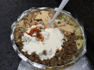 Halal Guys, didn't I say I would visit this place?