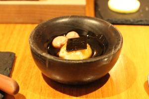 Duck Pate, Porcini, & Sous-Vide Egg