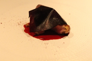 Poached & Roasted Squaw in Huckleberry